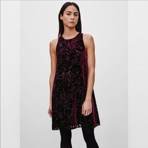 ARITZIA / WILFRED / BLACK TROMPETTE DRESS